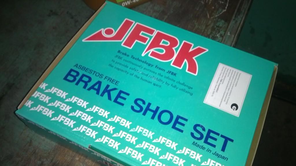 тормозные колодки JNBK
