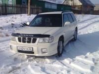 Замена салонного фильтра на Subaru Forester SF5 2001 года выпуска