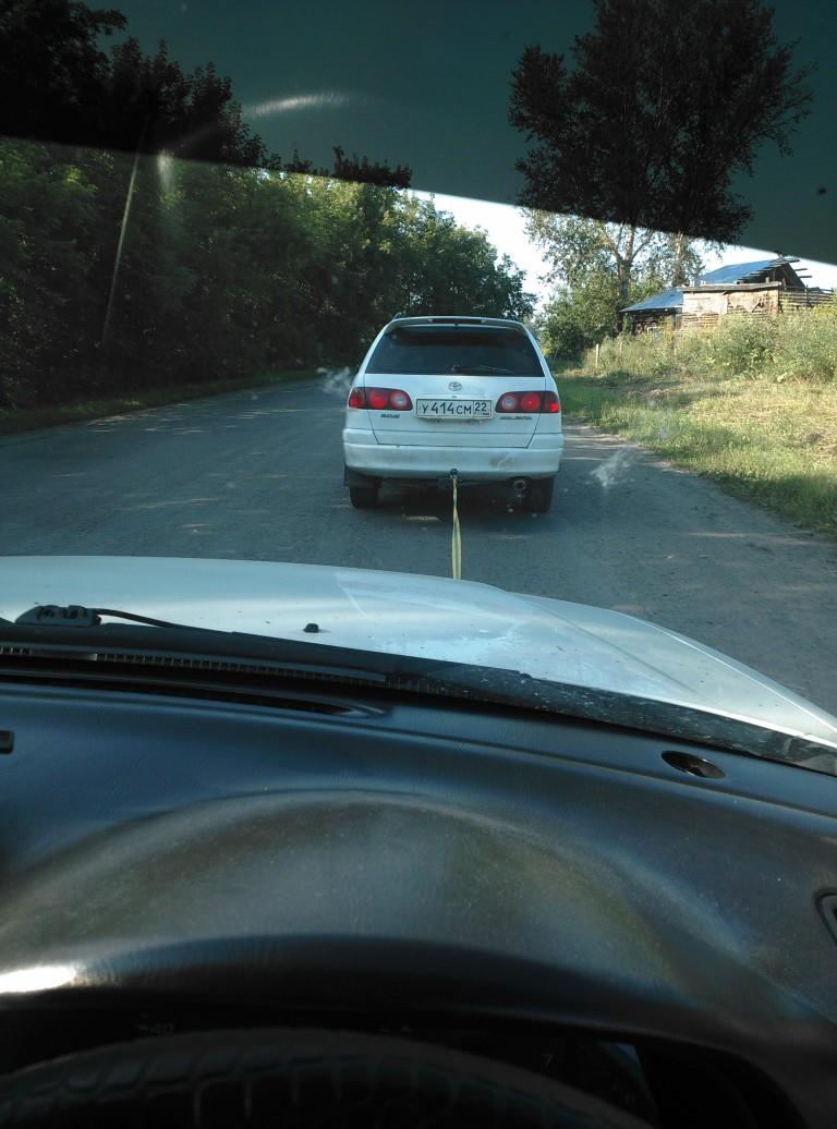 И все же иногда Subaru не едет…