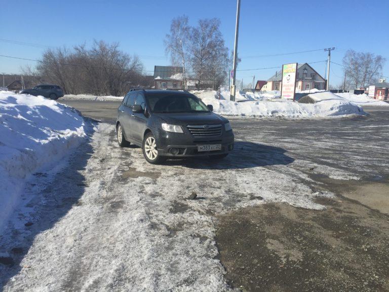 Я снова на Subaru